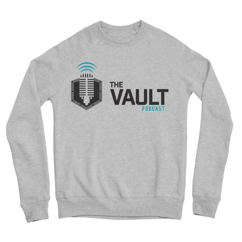 The Vault Podcast Men's Sponge Fleece Sweatshirt by RevolutionTradingCo