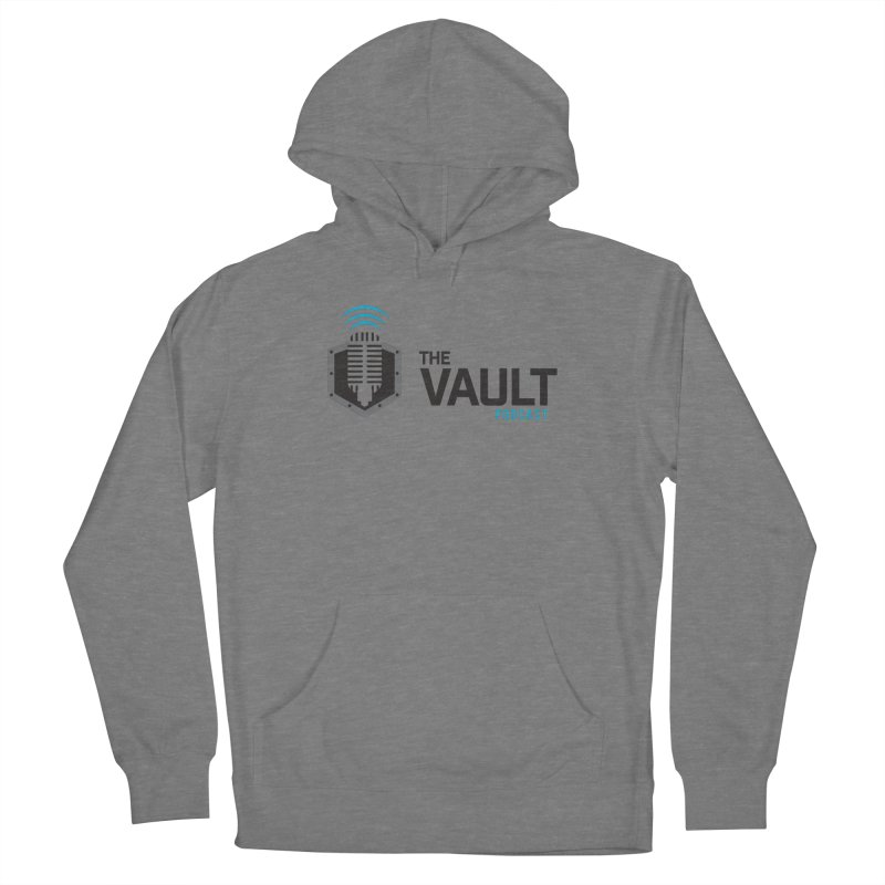 The Vault Podcast Men's French Terry Pullover Hoody by RevolutionTradingCo