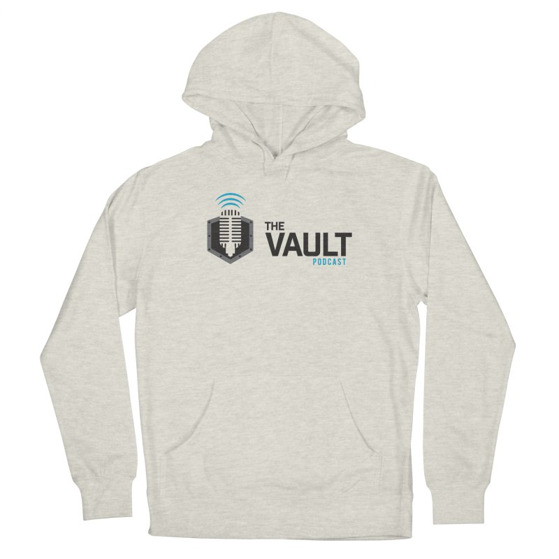 The Vault Podcast Women's French Terry Pullover Hoody by RevolutionTradingCo