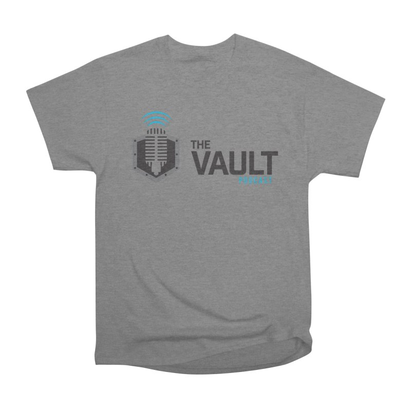 The Vault Podcast Men's Heavyweight T-Shirt by RevolutionTradingCo