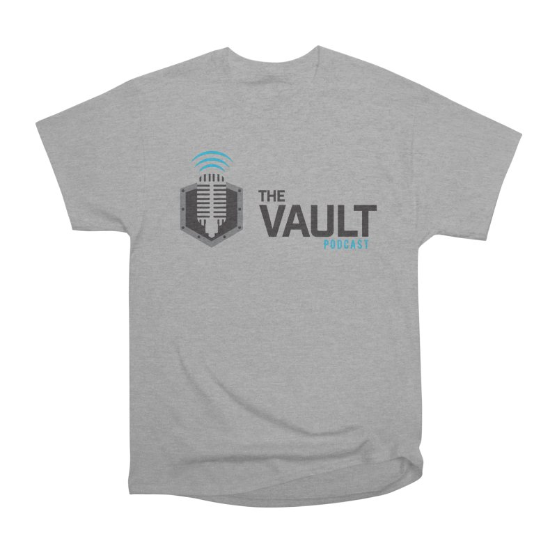 The Vault Podcast Women's Heavyweight Unisex T-Shirt by RevolutionTradingCo