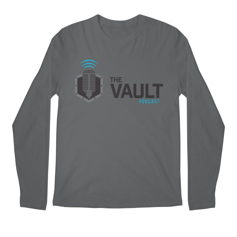 The Vault Podcast Men's Longsleeve T-Shirt by RevolutionTradingCo