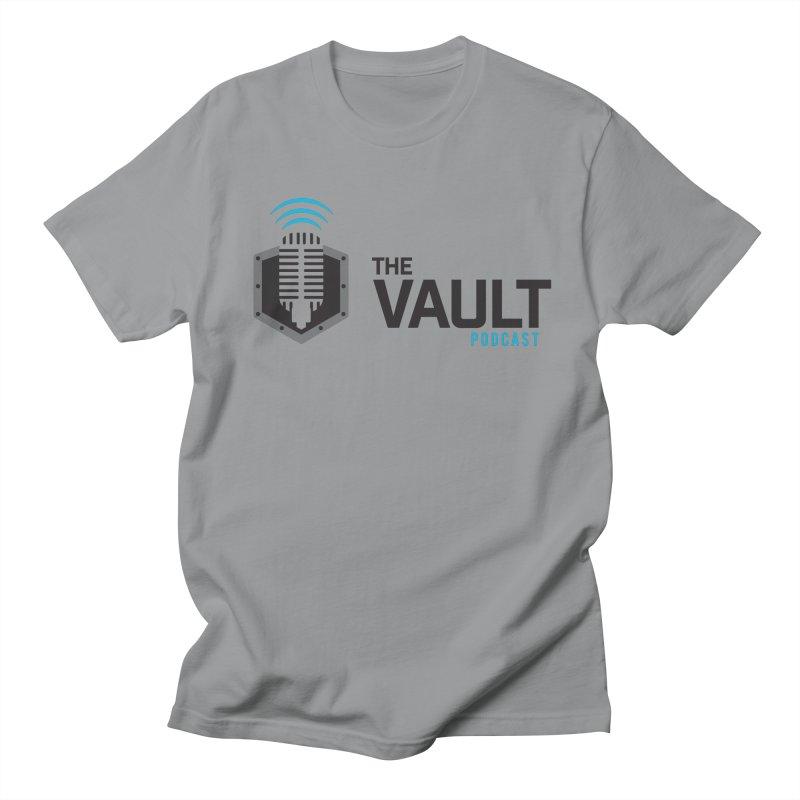 The Vault Podcast Men's Regular T-Shirt by RevolutionTradingCo