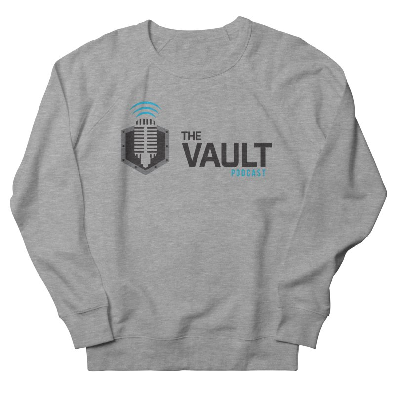 The Vault Podcast Men's French Terry Sweatshirt by RevolutionTradingCo