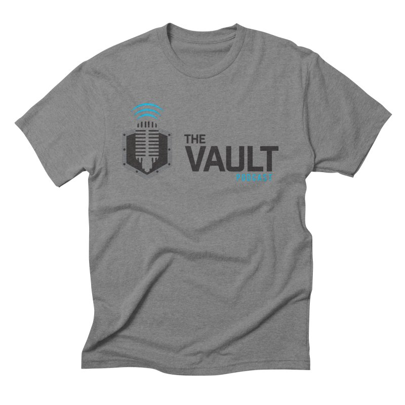 The Vault Podcast Men's Triblend T-Shirt by RevolutionTradingCo