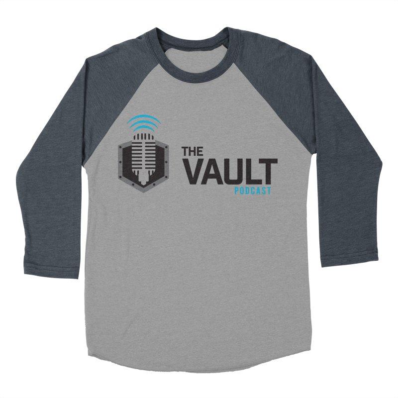 The Vault Podcast Women's Baseball Triblend Longsleeve T-Shirt by RevolutionTradingCo
