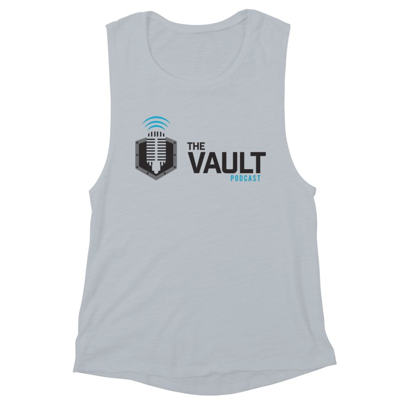 The Vault Podcast Women's Muscle Tank by RevolutionTradingCo