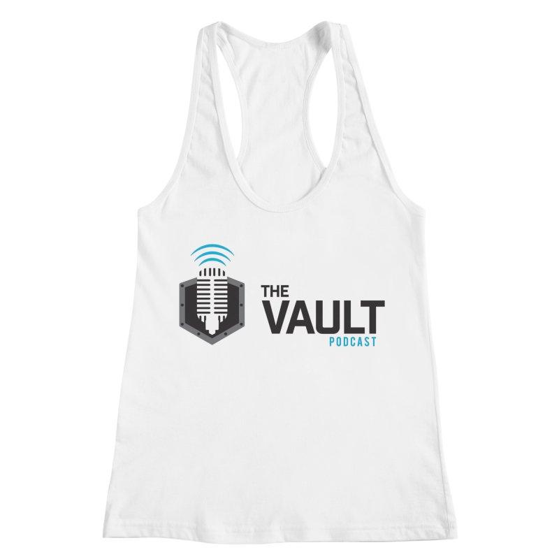 The Vault Podcast Women's Racerback Tank by RevolutionTradingCo