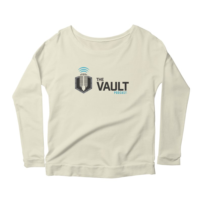 The Vault Podcast Women's Scoop Neck Longsleeve T-Shirt by RevolutionTradingCo