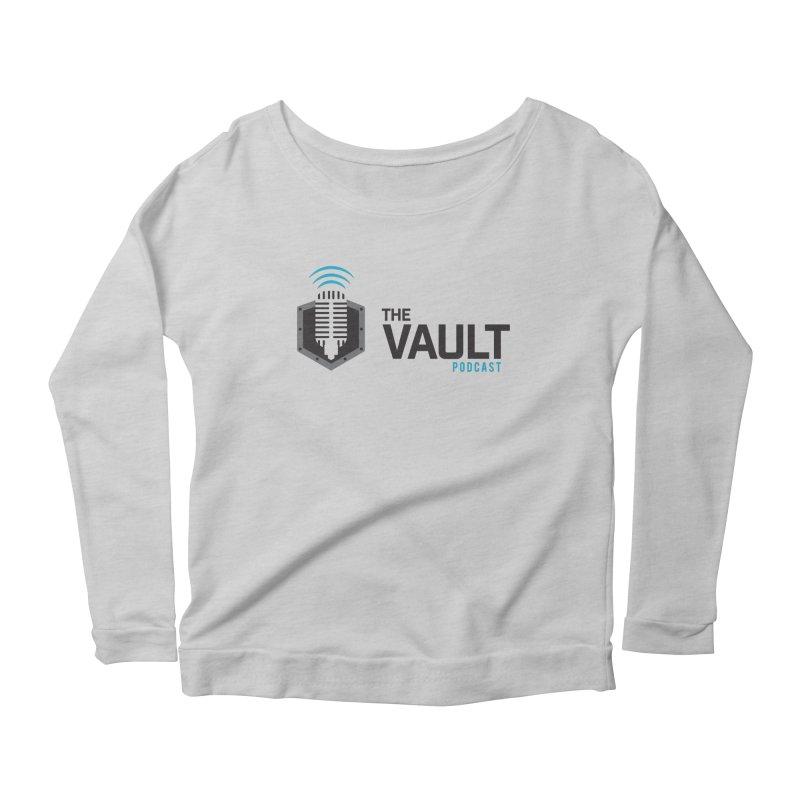 The Vault Podcast Women's Scoop Neck Longsleeve T-Shirt by RevolutionTradingCo