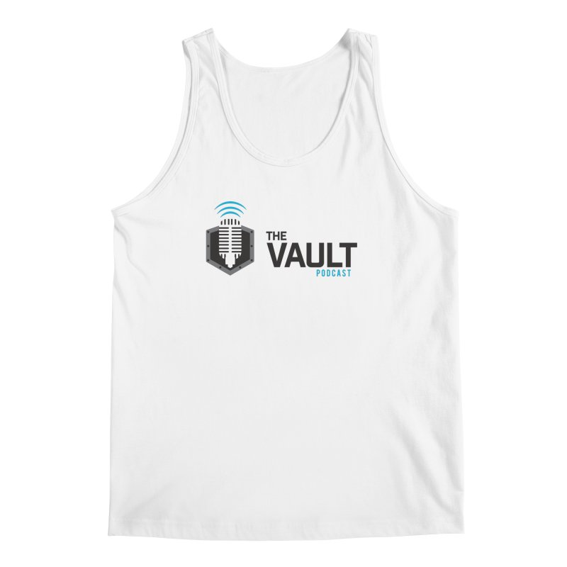 The Vault Podcast Men's Regular Tank by RevolutionTradingCo