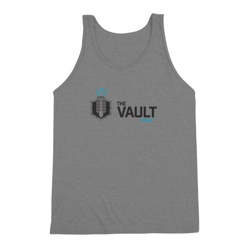 The Vault Podcast Men's Triblend Tank by RevolutionTradingCo