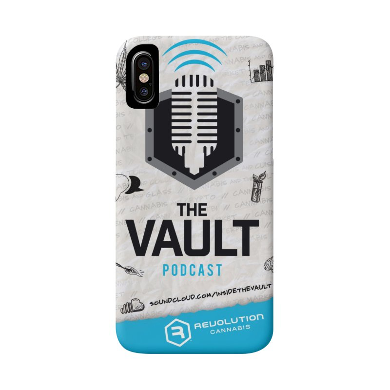 The Vault Podcast Accessories Phone Case by RevolutionTradingCo