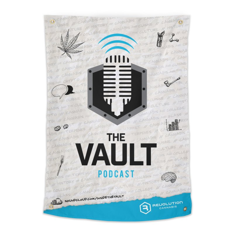 The Vault Podcast Home Tapestry by RevolutionTradingCo