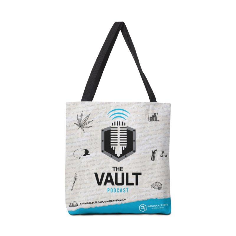 The Vault Podcast Accessories Tote Bag Bag by RevolutionTradingCo