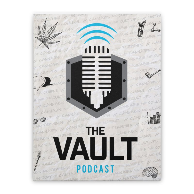 The Vault Podcast Home Stretched Canvas by RevolutionTradingCo
