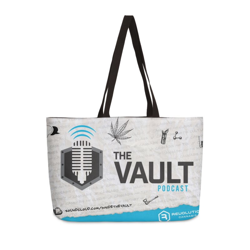 The Vault Podcast Accessories Bag by RevolutionTradingCo