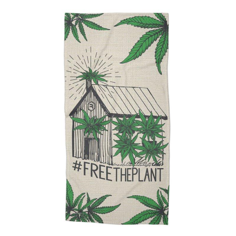 #FreeThePlant Accessories Beach Towel by RevolutionTradingCo