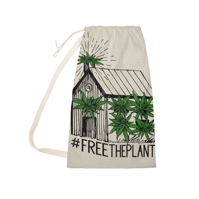 #FreeThePlant Accessories Bag by RevolutionTradingCo