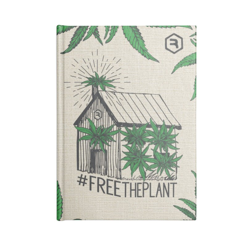 #FreeThePlant Accessories Blank Journal Notebook by RevolutionTradingCo