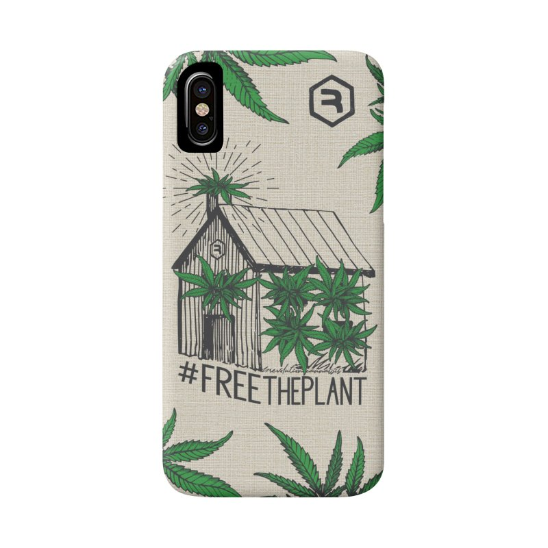 #FreeThePlant in iPhone X / XS Phone Case Slim by RevolutionTradingCo