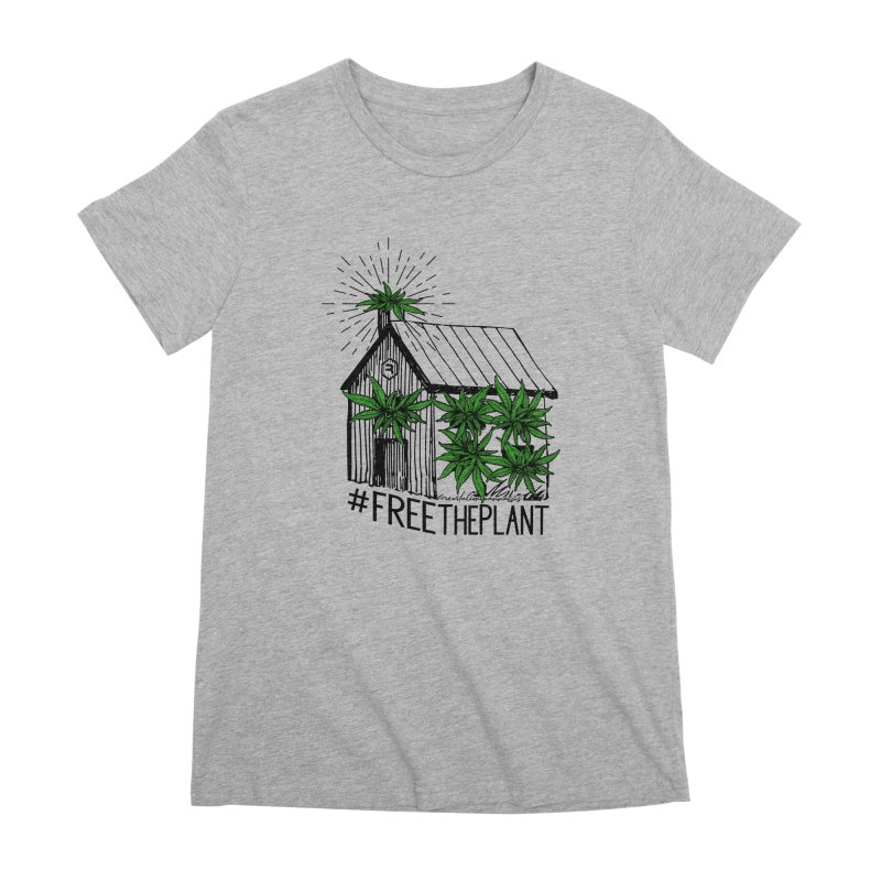 #FreeThePlant Women's Premium T-Shirt by RevolutionTradingCo