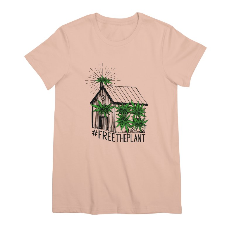 #FreeThePlant Women's Premium T-Shirt by RevolutionTradingCo