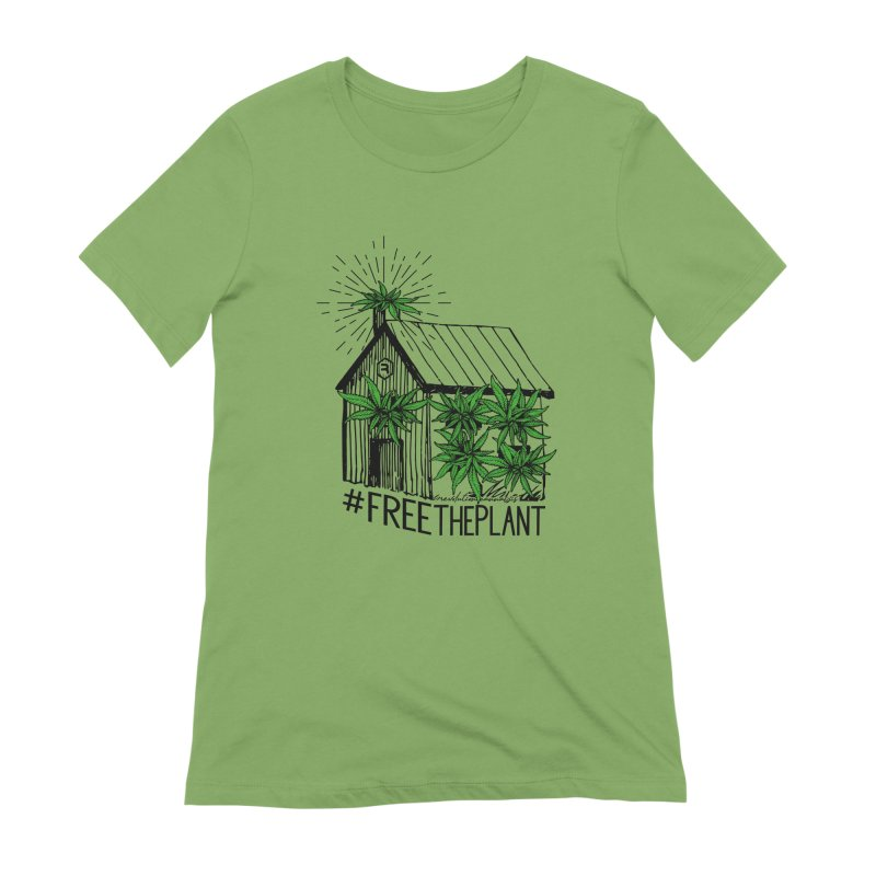 #FreeThePlant Women's Extra Soft T-Shirt by RevolutionTradingCo