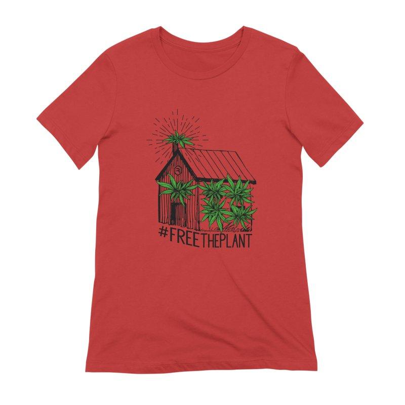 #FreeThePlant Women's Extra Soft T-Shirt by RevolutionTradingCo
