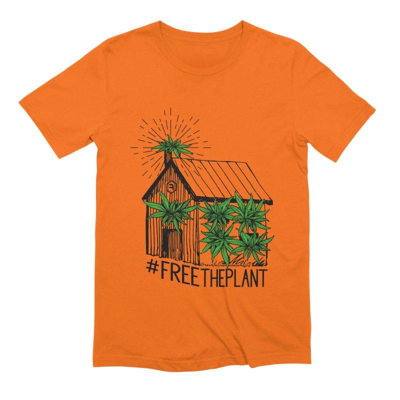 #FreeThePlant Men's Extra Soft T-Shirt by RevolutionTradingCo