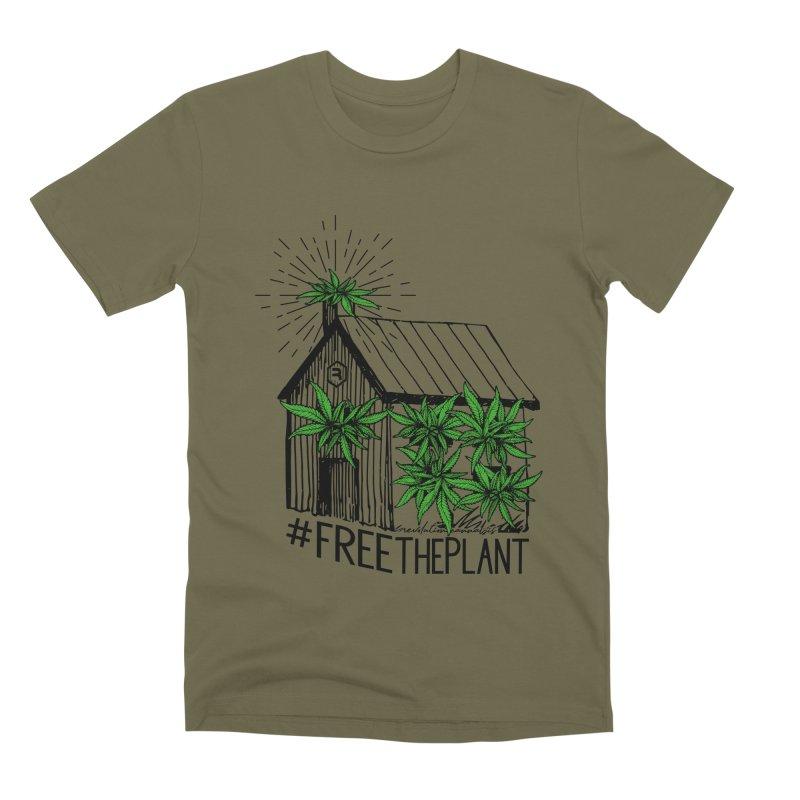 #FreeThePlant Men's Premium T-Shirt by RevolutionTradingCo