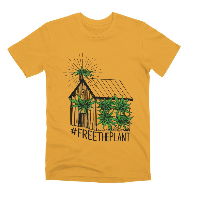 #FreeThePlant Men's Premium T-Shirt by RevolutionTradingCo