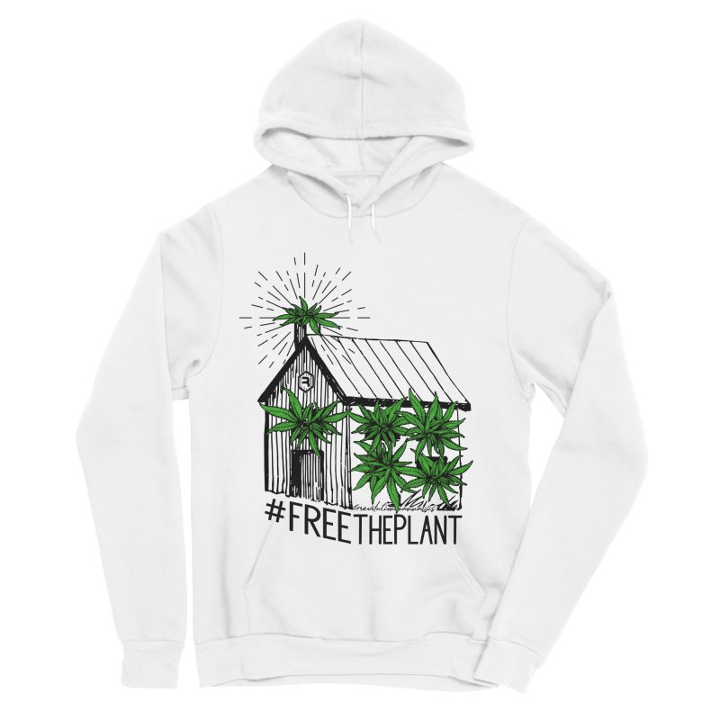 #FreeThePlant Men's Sponge Fleece Pullover Hoody by RevolutionTradingCo