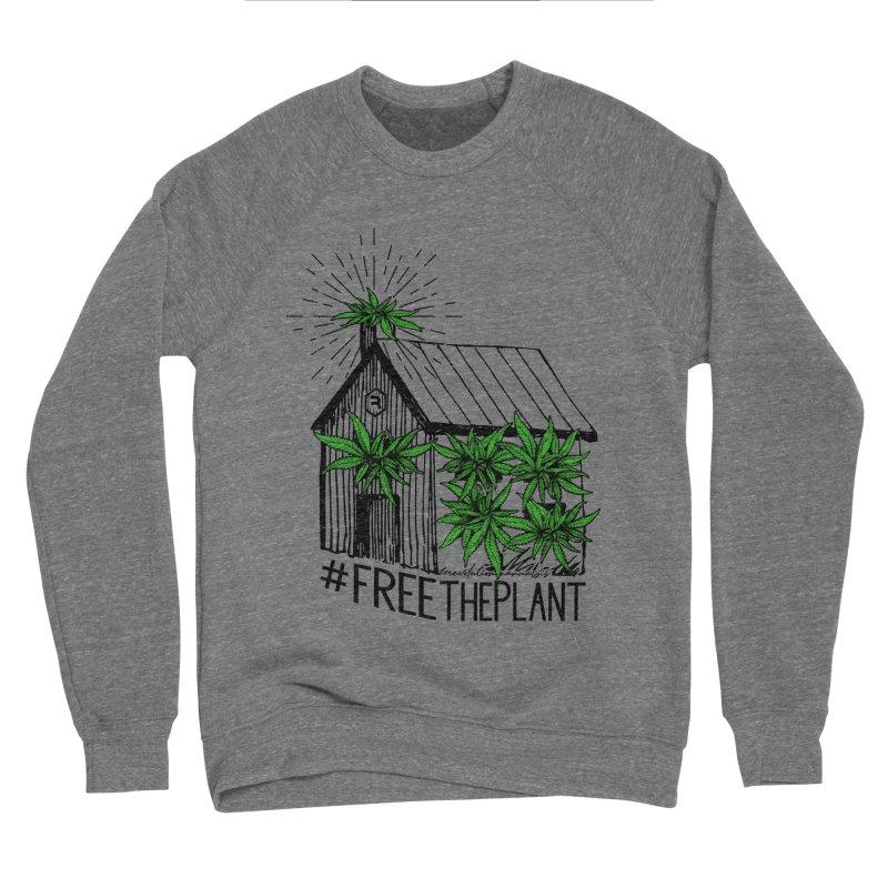 #FreeThePlant Men's Sponge Fleece Sweatshirt by RevolutionTradingCo