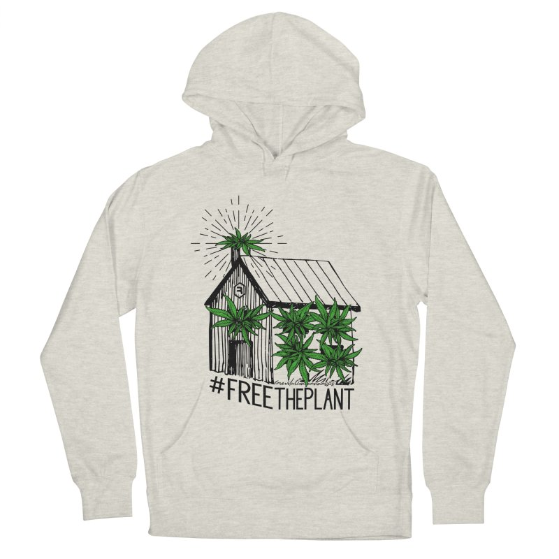 #FreeThePlant Women's French Terry Pullover Hoody by RevolutionTradingCo