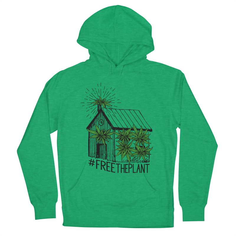 #FreeThePlant Men's French Terry Pullover Hoody by RevolutionTradingCo
