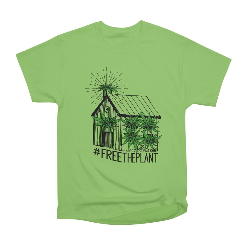 #FreeThePlant Men's Heavyweight T-Shirt by RevolutionTradingCo