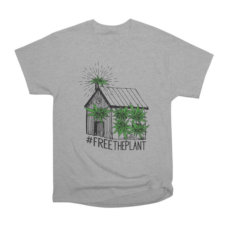 #FreeThePlant Women's Heavyweight Unisex T-Shirt by RevolutionTradingCo