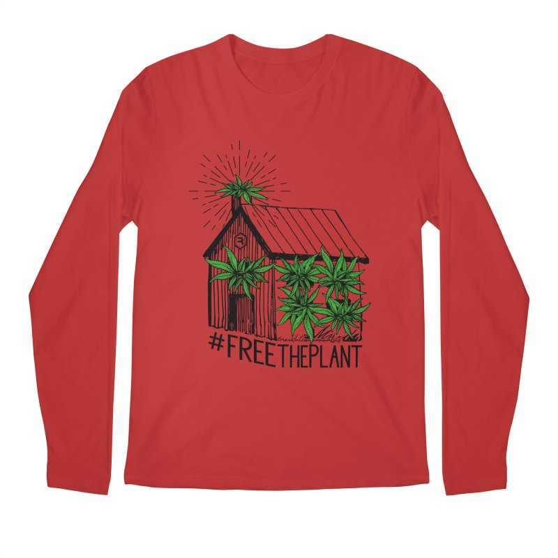 #FreeThePlant Men's Regular Longsleeve T-Shirt by RevolutionTradingCo
