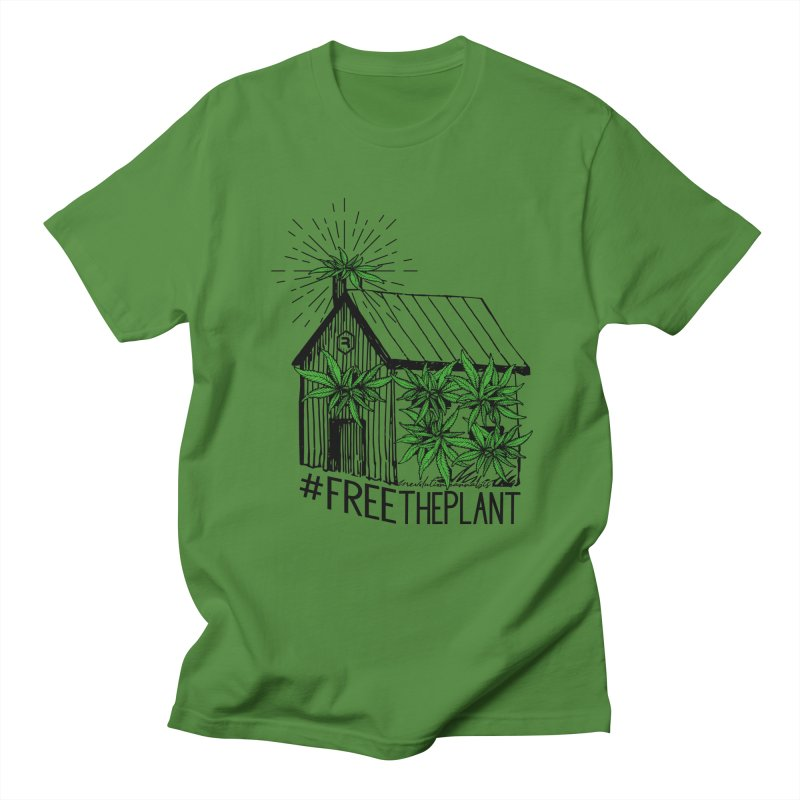 #FreeThePlant Women's Regular Unisex T-Shirt by RevolutionTradingCo