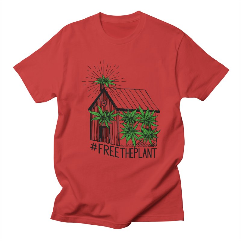 #FreeThePlant Women's Regular Unisex T-Shirt by RevolutionTradingCo