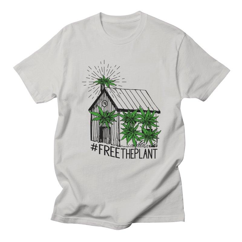 #FreeThePlant Men's Regular T-Shirt by RevolutionTradingCo