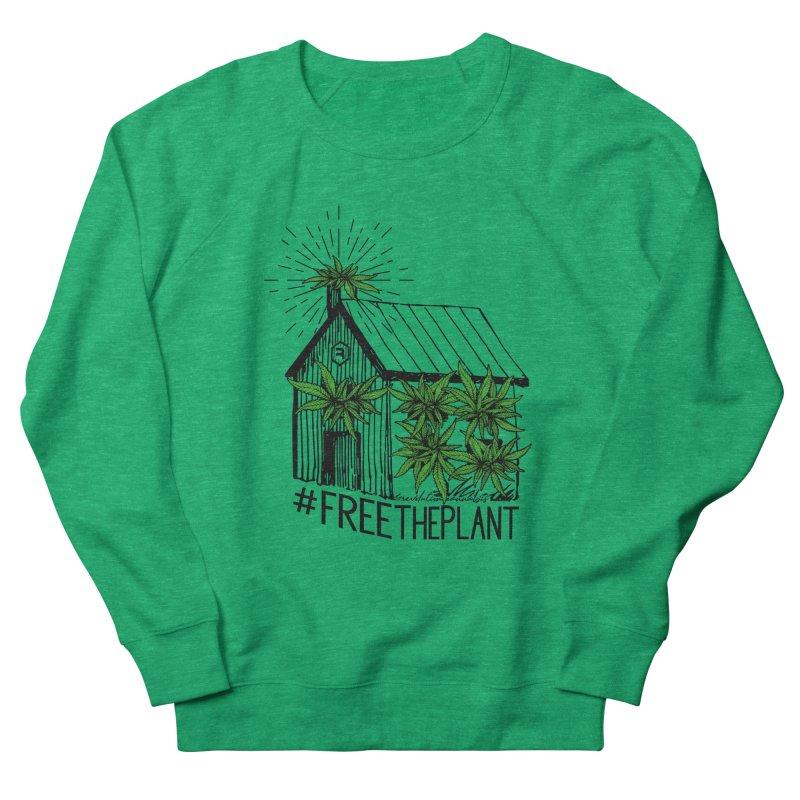 #FreeThePlant Women's French Terry Sweatshirt by RevolutionTradingCo