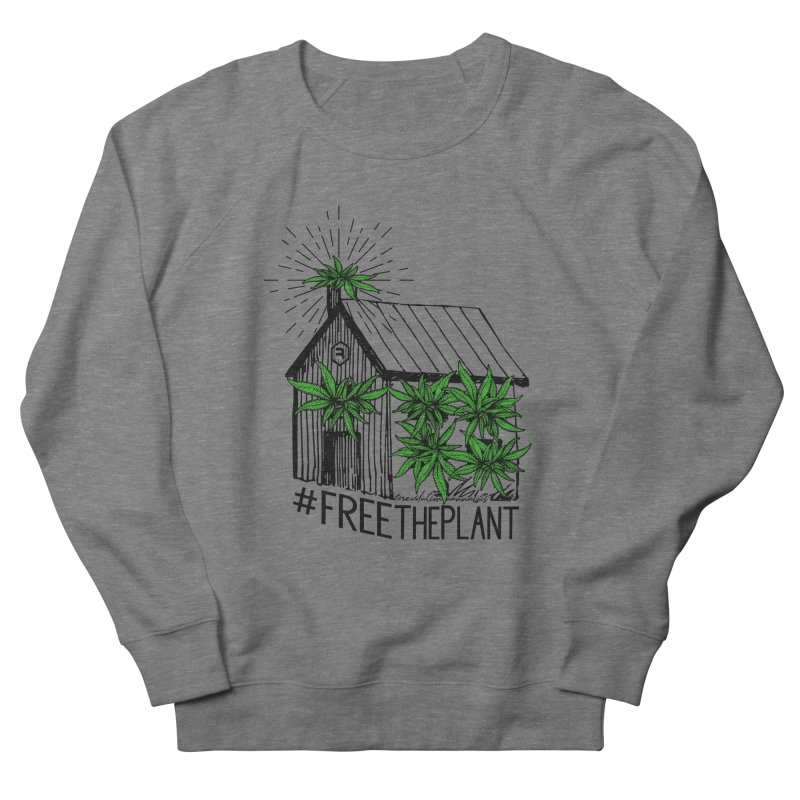 #FreeThePlant Women's French Terry Sweatshirt by RevolutionTradingCo
