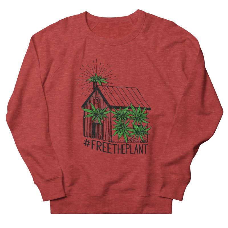 #FreeThePlant Men's French Terry Sweatshirt by RevolutionTradingCo