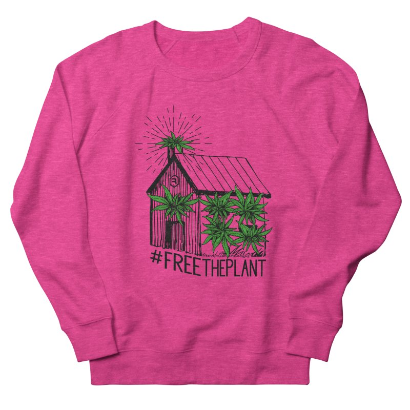 #FreeThePlant Men's French Terry Sweatshirt by RevolutionTradingCo