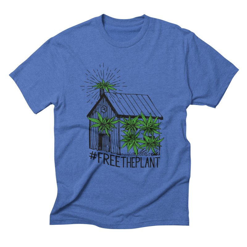 #FreeThePlant Men's Triblend T-Shirt by RevolutionTradingCo