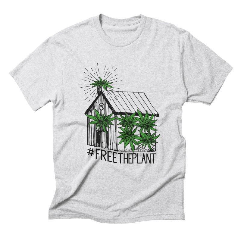 #FreeThePlant Men's Triblend T-Shirt by RevolutionTradingCo