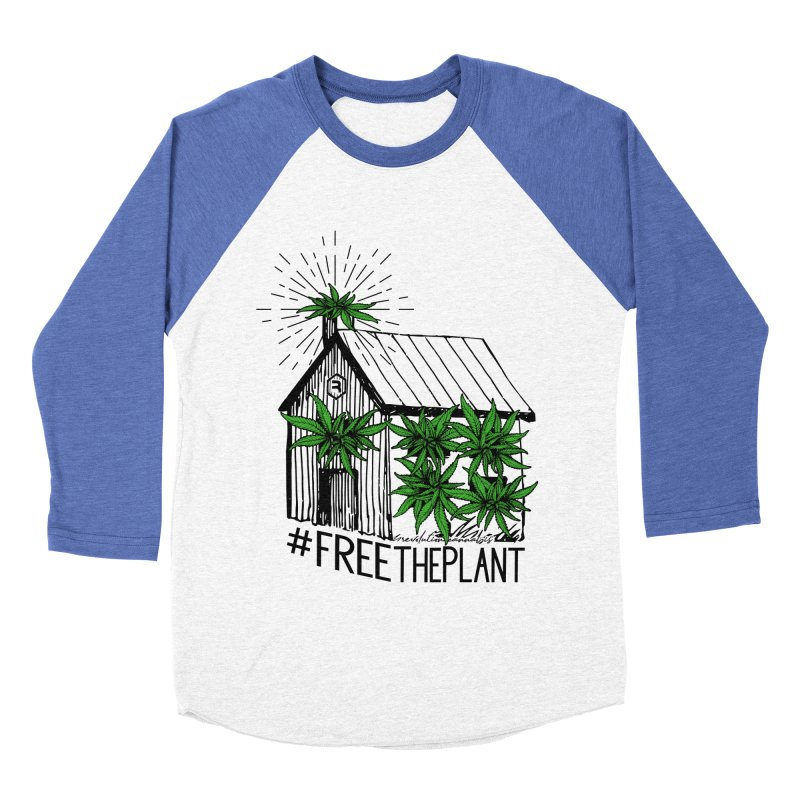 #FreeThePlant Women's Baseball Triblend Longsleeve T-Shirt by RevolutionTradingCo