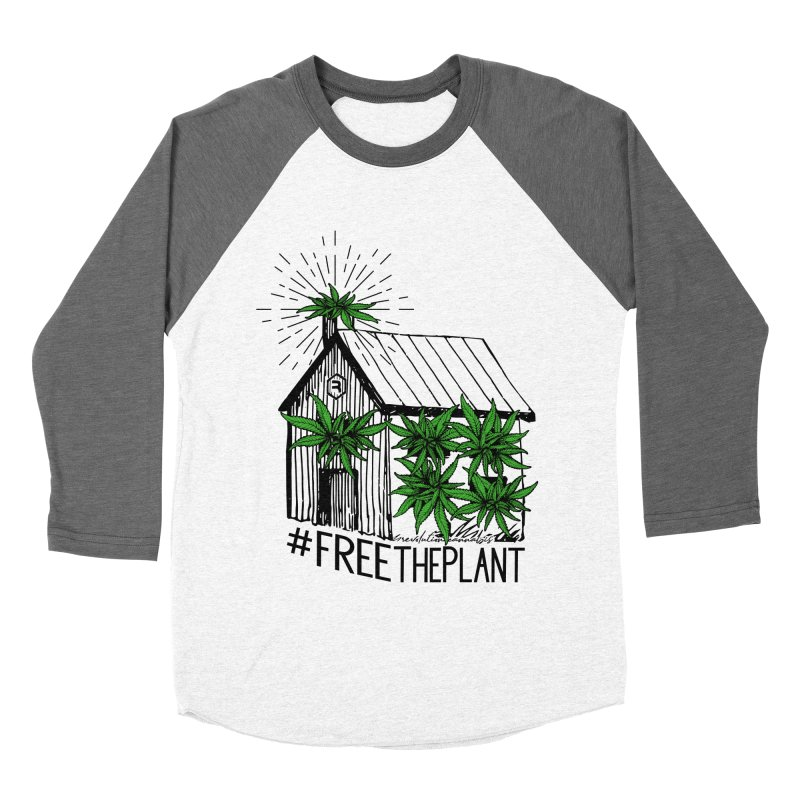 #FreeThePlant Women's Longsleeve T-Shirt by RevolutionTradingCo